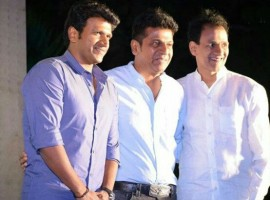 Kannada movie Raajakumara audio launch event held in Bangalore. Celebs like Shiva Rajkumar, Puneeth Rajkumar, Raghavendra Rajkumar and others graced the event.