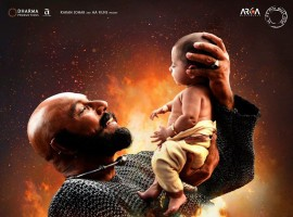 Kattappa's first look revealed from Baahubali 2. The much awaited theatrical trailer of S.S. Rajamouli's