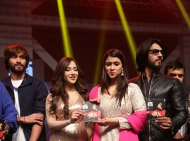 Telugu movie Rogue audio launch event held at Hyderabad. Celebs like Ishaan, Angela Krislinzki, Puri Jagannadh, Sanjana, Charmi, Thakur Anoop Singh, VV Vinayak, Ajaz Khan, Kashish Vohra, Mannara Chopra, Aishwarya Devan, Sunil Kashyap, Satya Dev, Ali, Akash Puri, AM Rathnam, BA Raju, Krish, Prasad V. Potluri, Bhaskara Bhatla, Sirivennela Seetharama Sastry and others graced the event.