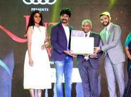 Audi Ritz Style awards 2017 event held at Feathers Hotel in Chennai on 12th March 2017. Celebs like Sivakarthikeyan, Anirudh Ravichander, Keerthy Suresh, Aditi Rao Hydari, Amit Mishra, Sobhita Dhulipala, Catherine Tresa and others graced the event.