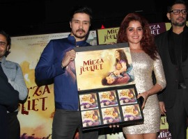 Bollywood movie Mirza Juliet music launch event held in Mumbai. Celebs like Pia Bajpai, Darshan Kumar, Priyanshu Chatterjee, Chandan Roy Sabyal and others graced the event.