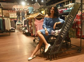 """Bollywood actress Nimrat Kaur who recently visited the mall was visibly delighted - """"Considering how massive the mall is, it's fantastic that Phoenix Marketcity has installed digital directories to help visitors navigate through the place conveniently. I was impressed especially impressed by the smooth touch screens and digital mall directory."""" she exclaimed."""