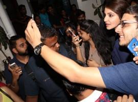 Bollywood actress Anushka Sharma snapped during the promotion of film Phillauri at Bandra