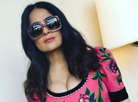 Check out the latest Instagram photos of Hollywood actress Salma Hayek Pinault.