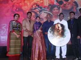 Telugu movie Cheliyaa audio launch event held in Hyderabad. Celebs like Karthi, Aditi Rao Hydari, AR Rahman, Mani Ratnam, Suhasini Maniratnam and others graced the event.