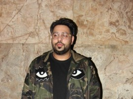 Bollywood singer Badshah during the screening of song Mercy in Mumbai, India on March 22, 2017.