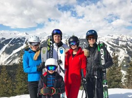 Ivanka Trump went for skiing in the posh Colorado town of Aspen for spring break along with Donald Trump Jr., Eric Trump and their respective children and spouses. Check out the photos of their family vacation here.