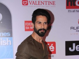 Bollywood actors Shahid Kapoor spotted during the HT Most Stylish Awards in Mumbai on March 24, 2017.