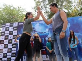 Team Naam Shabana, Akshay Kumar, Neeraj Pandey, Taapsee Pannu and Manoj Bajpayee, have been on a promotional spree and recently visited Gargi College.