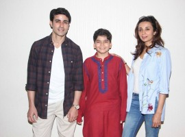 Gautam Rode and Ira Dubey attend child Artist Krish Dewan's play to support him.