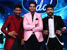 TOP 3 finalists Khuda Baksh, PVNS Rohit & LV Revanth on Indian Idol 9.