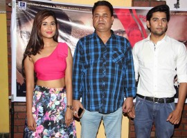 Check out the photos of Trailer launch of film Haq at Laddu studio.