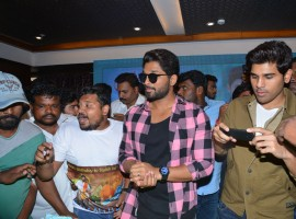 South Indian actor Allu Arjun's 34th birthday celebrations at FNCC.