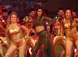 Kriti Sanon made her debut performance for IPL in Bangalore recently.