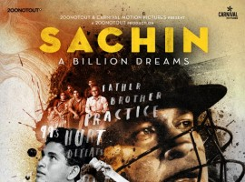 Sachin: A Billion Dreams directed by James Erskine wraps up the wonderful journey of the virtual hero in his forthcoming film that is all set to come alive in theaters on 26th May. The makers of the film are all excited to present the trailer of same to the audiences on 13th April! The news is Sachin Himself will join the makers on this very special day and launch the promo unit along with the media personnel who will be gathered for the event. The teaser of the film has already been put out that has Sachin himself narrating the story, it surely leaves one with much urge to experience the entire film. The film appears to be a sheer treat for all the fans of Sachin Tendulkar who can't wait to watch the film. The music of the film is being given by none other than the maestro himself, A.R Rahman. Sachin A Billion Dreams is been directed by London-based award-winning writer, director James Erskine, Produced by Ravi Bhagchandka, 200 Not Out and Shrikant Bhasi, Carnival Motion Pictures. Film releases on 26th may 2017.