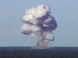 The US military on Thursday dropped a massive GBU-43 bomb, also known as the