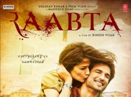 Raabta is an upcoming Bollywood movie directed by Dinesh Vijan and produced by Homi Adajania, Bhushan Kumar and Dinesh Vijan. Starring Sushant Singh Rajput and Kriti Sanon in lead roles.