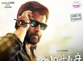 Chiyaan Vikram's Sketch first look posters revealed on the occasion of Vikram's birthday. Directed by Vijay Chandar and Produced by Kalaipuli S Thanu under V Creations. Tamannaah, Radharavi, Soori, Sriman, Sri Priyanka, Ravi Kishan, R. K. Suresh in other cast.