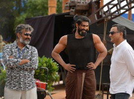 Baahubali: The Conclusion is an upcoming Telugu movie directed by SS Rajamouli and produced by Shobu Yarlagadda and Prasad Devineni. Starring Prabhas, Anushka Shetty, Rana Daggubati, Ramya Krishnan, Nassar and Sathyaraj in the lead role.