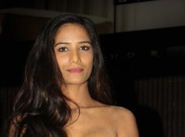 Bollywood actress Poonam Pandey launches her own app in Mumbai on April 17, 2017.