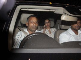 Bollywood actress Shraddha Kapoor snapped outside Raveena Tandon's house.