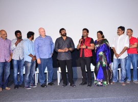South Indian actor Chiranjeevi launches DSP live in concert Australia and New Zealand tour promo.