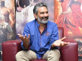 Telugu film director SS Rajamouli Interview about Baahubali 2 Movie.