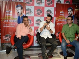 Bollywood actor John Abraham celebrate 3 year of Fever Voice of Change in Mumbai on April 26, 2017.