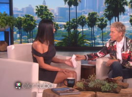 Reality TV star Kim Kardashian got emotional while talking about last years Paris robbery on