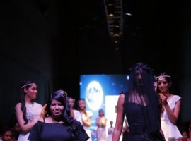 Designer Mithi Kalra, who launched her new 'Moonlight Collection' at the India Runway Week, says she found inspiration in the purity and sanctity attached to the moon and stars.