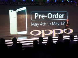 Chinese smartphone maker Oppo on Thursday launched another selfie focused smartphone in India at Rs 19,990 - a Flipkart exclusive. The first sale of F3 will begin on May 13 and the pre-order starts from Thursday till May 12. Customers can also pre-order offline through Oppo stores.