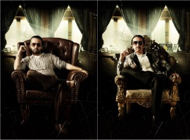 Here's presenting two transformational looks of Siddhanth Kapoor as Dawood Ebrahim in Haseena. The actor will be seen showcasing the character from 20s to 40s. Siddhanth had to put on 9 kgs for the film. The film is produced by Nahid Khan with Swiss entertainment and co-produced by Sameer Antulay and Babu Tyagi.