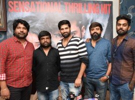 Photos of Telugu movie Venkatapuram success meet.