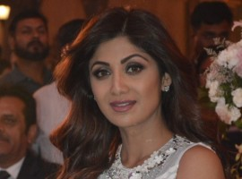 Bollywood Actress Shilpa Shetty at the launch of a real estate project in Gurugram, on May 14, 2017.