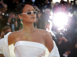 Cannes film festival 2017: Singer Rihanna looks stunning as she walks the Red Carpet.