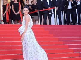 Cannes 2017: American fashion model Kendall Nicole Jenner looks stunning as she walks the Red Carpet.