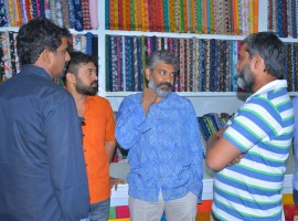 Baahubali 2: The Conclusion director SS Rajamouli opens Costume Krishna Shop.