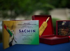 Sachin has paved his way, with his umpteen effort and accomplishments to become a legendary cricket star who is revered across a country, where cricket is not a game but rather considered as a religion and  it was only time that a film got made on Sachin Tendulkar, the very man who, single-handedly brought laurels and glories galore to India. The resultant of all this was in the form of a film named Sachin: A Billion Dreams, which has been based on the life of Sachin Tendulkar.