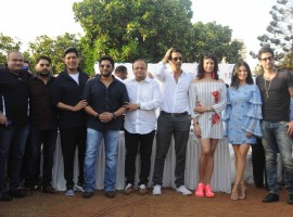A group of Bollywood celebrities including Sunny Leone, Arjun Rampal, Pooja Batra, Arshad Warsi among others gathered on Tuesday for a tree plantation drive to protect the environment of Mumbai city.
