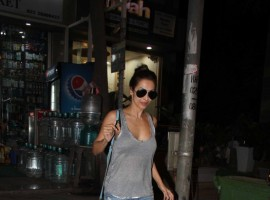 Bollywood actress Malaika Arora Khan spotted at MUAH salon on May 24, 2017.