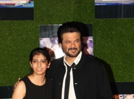 Bollywood actor Anil Kapoor during the premiere of film Sachin: A Billion Dreams in Mumbai on May 24, 2017.