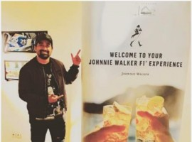 Singer-Actress Sophie Choudhary and the popular Actor, VJ and show host Rannvijay Singh were spotted in Monaco for the much - awaited Johnnie Walker Grand Prix taking place on Sunday 28th May, 2017. The duo was seen exiting Monaco Airport in helicopters ready to catch all the F1 action starting with the Johnnie Ginger welcome party.