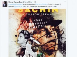 Sachin: A Billion Dreams has released today and has not only been receiving critical acclaim but also audience appreciation and love from all quarters.