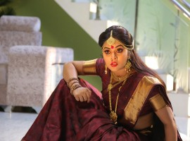 South Indian actress Poorna in Avanthika movie.