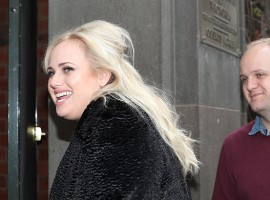 Australian actress Rebel Wilson and her brother Ryot Wilson (R) arrive at the Victorian Supreme Court on June 8, 2017 in Melbourne, Australia. Rebel Wilson is suing Bauer Media, the publisher of Woman's Day, over a series of articles she alleges portrayed her as a serial liar and cost her movie roles in Hollywood.