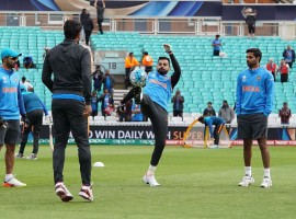 India's confidence must be sky high having registered a massive 124-run win over arch-foes Pakistan and the win has kind of set the tempo for the rest of the tournament. Sri Lanka have to considerably improvise on their batting after being all out at 203 runs against South Africa, allowing the Proteas a 96-run victory. India will look to demolishing the opponents with their formidable batting line-up with the likes of Rohit Sharma, Shikhar Dhawan, Virat Kohli, Yuvraj Singh and Hardik Pandya who made their mark with the bat in the opening game against Pakistan. The spin and pace bowling combination for India has only helped them become a lethal all-round side though fielding has been a matter of concern -- as pointed out by skipper Kohli -- and which the team will look to overcome against the Lankans. India boast an array of seamers -- Bhuvneshwar Kumar, Umesh Yadav, Jasprit Bumrah and Hardik -- who can be lethal in these helpful English conditions.