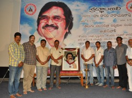 Photos of Dr. Dasari Narayana Rao Condolence Meet by Telugu Film Director Association at Hyderabad.
