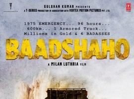 Baadshaho is an upcoming Bollywood action thriller film written by Rajat Arora, directed and co-produced by Milan Luthria.
