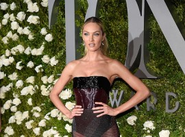 Candice Swanepoel attends the 71st Annual Tony Awards at Radio City Music Hall on June 11, 2017 in New York City.
