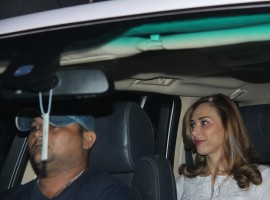 Romania host-actress Iulia Vantur was spotted exiting a spa and salon in Bandra.